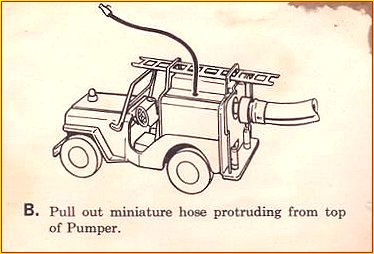 1964 Model 425 Jeep Pumper Instruction Sheet Page 2