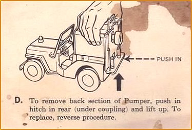 1964 Model 425 Jeep Pumper Instruction Sheet Page 4