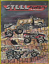 1986 US Made Steel Monsters Comic Book