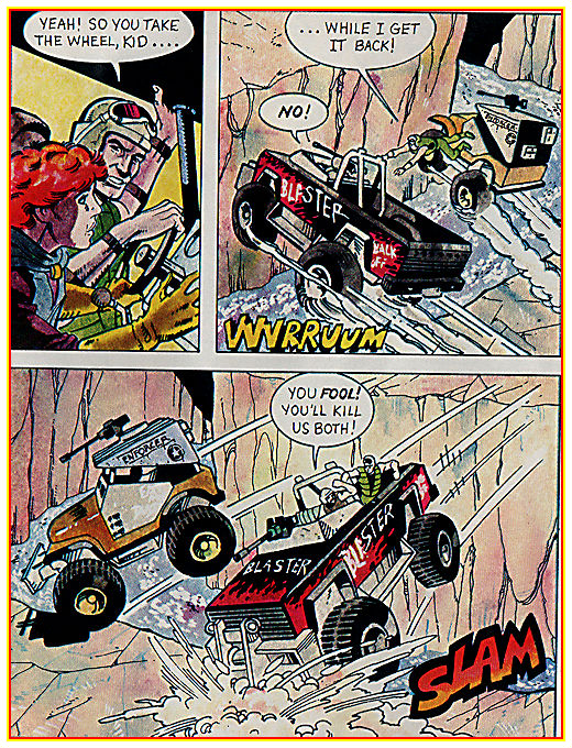 1986 Steel Monster Comic Book Page 11