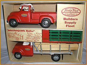 1955 Model 875-5 Builders Supply Fleet Set