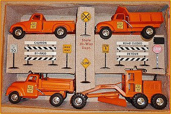 1956 Model 975-6 State Hi-Way Department Set