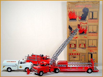 1958 Model B213 Tonka Fire Department Set