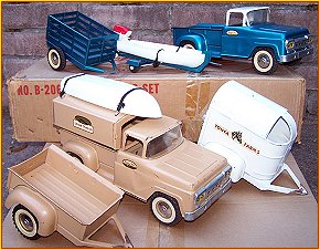 1959 Model B206 Trailer Sales Set