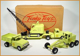1959 Model B207 Hi-Way Construction Set