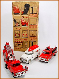 1960 Model B225 Fire Department Set