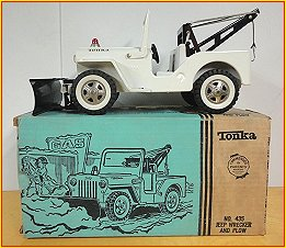 1965 - 1966 Model 435 Jeep Wrecker & Plow