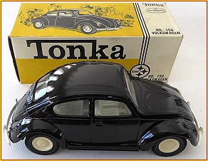 1966 Model 150 Black Volkswagen Beetle Bug