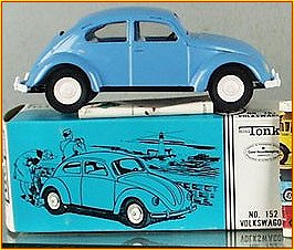 1966 Model 152 Powder Blue Volkswagen Beetle Bug