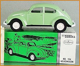 1966 Model 154 Sea Foam Green Volkswagen Beetle Bug