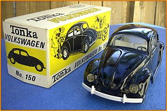 1967 Model 150 Black Volkswagen Beetle Bug