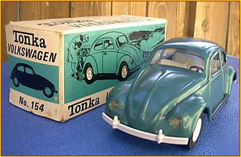 1967 Model 154 Emerald Green Volkswagen Beetle Bug