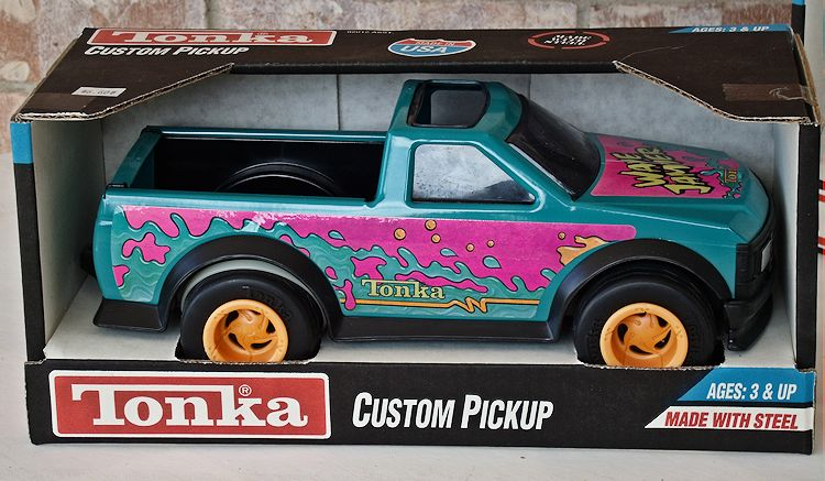 1992 Tonka Model 92012 Custom Pickup With Wave Jammer Graphics #043