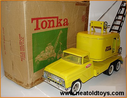 Tonka #2942 Mobile Clam Made in New Zealand
