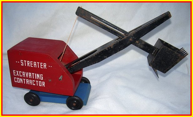 1945 Streater Wood Shovel